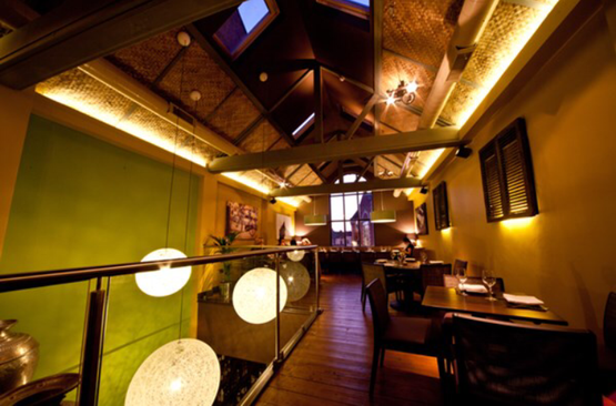 Restaurant Interior Lighting - Taunton